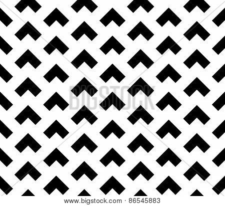 Seamless Pattern Of Triangular Shapes - Squares Overlapping
