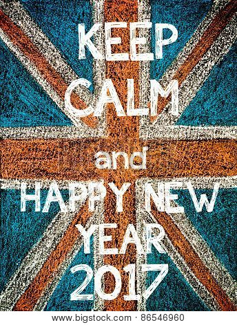 Keep Calm and Happy New Year 2017.