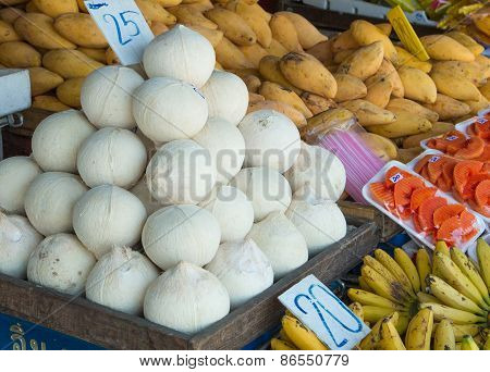 Coconuts And Other Fruits