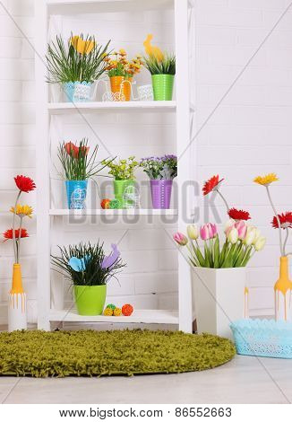 Spring Floral Decorations