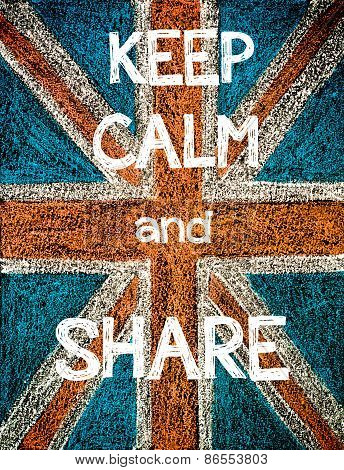 Keep Calm and Share.