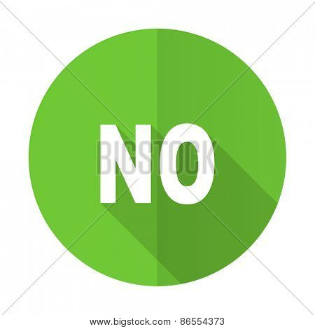 no green flat icon