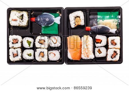 Two Sushi Boxes