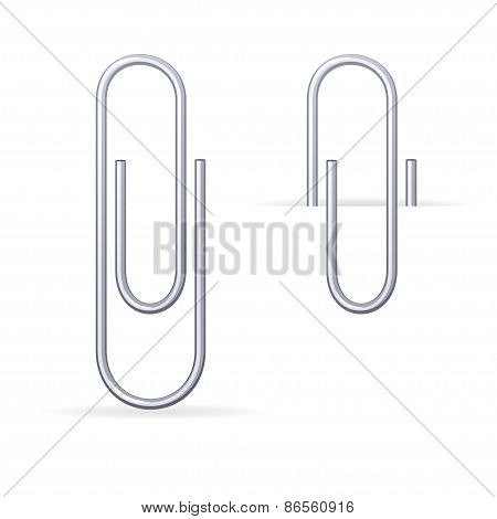 Vector metal, steel clips set
