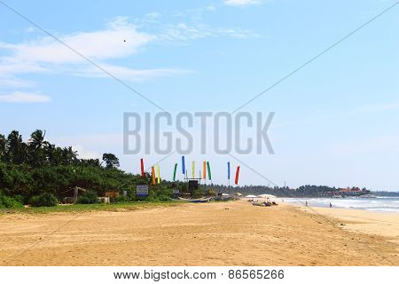 The beach at Bentota