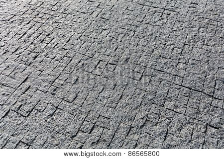 Granite Cobblestoned Pavement