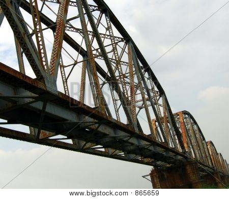 Massive Old Railway Bridge
