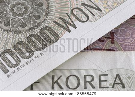 Korean Won Detail