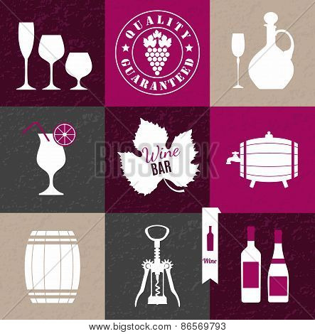 Vector Stock Illustration ow wine