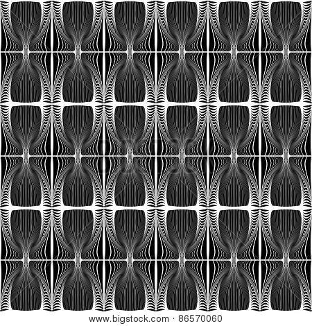 Design Seamless Striped Decorative Pattern