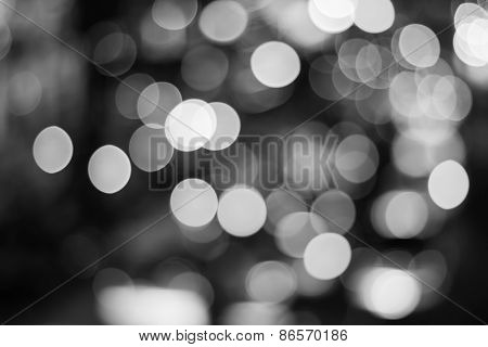 Bokeh Blurred Light Soft Background.