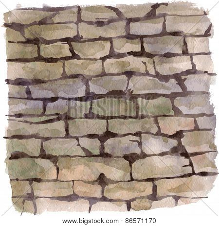 background with stonework