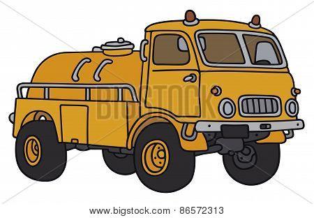 Small tank truck