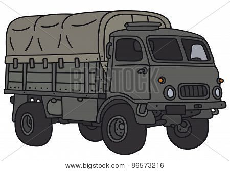 Classic military truck