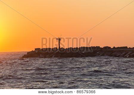 Harbor Channel Pier Beacon