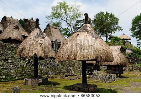 Ethnic Straw Village