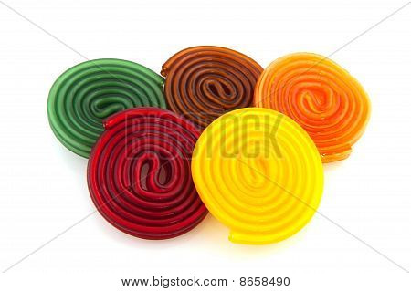 Colorful Candy Rolls