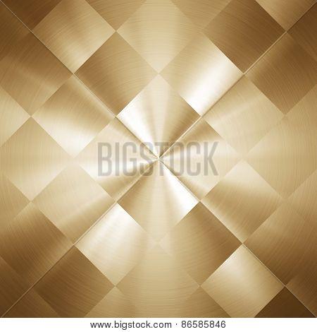 gold metal pattern background