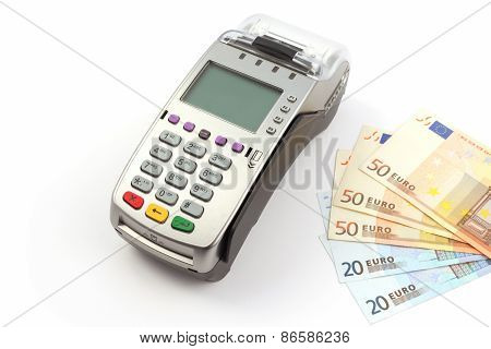 Bank terminal and money