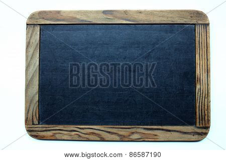 Old-fashioned writing slate