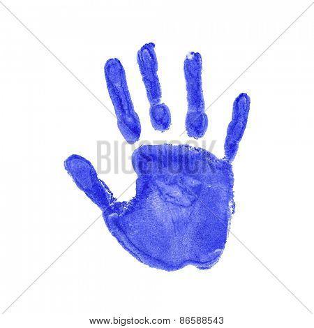Vector illustration of handprints