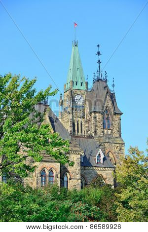 Ottawa city historical urban architecture