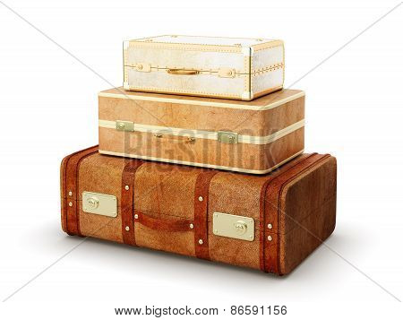 Three Browh Suitcase
