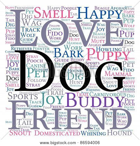 Dog Word Cloud