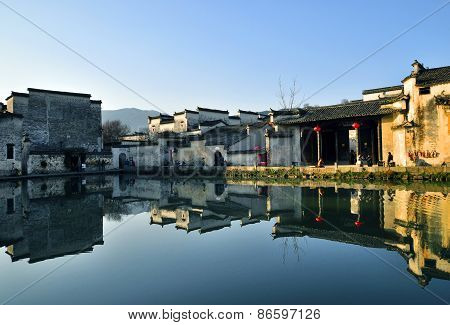 architecture of Chinese town hongcun