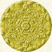 pic of orbs  - Gold  - JPG