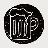foto of drawing beer  - Doodle Beer - JPG