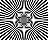 image of starburst  - Eps 10 Vector Illustration of a Black and White Starburst Sunburst Backdrop - JPG
