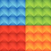 foto of stud  - Eps 10 Vector Illustration of an Abstract Colorful Studded Pattern Background Set - JPG
