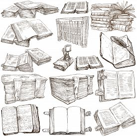 picture of freehand drawing  - BOOKS  - JPG
