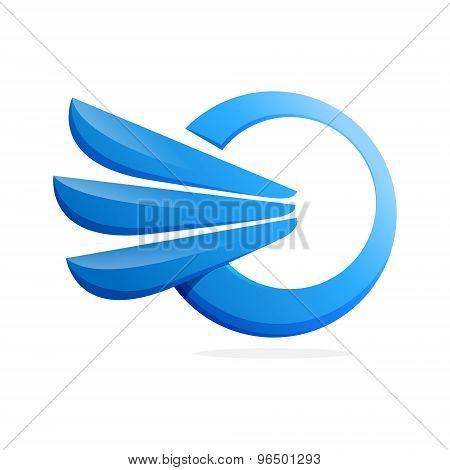 A Letter Volume Logo