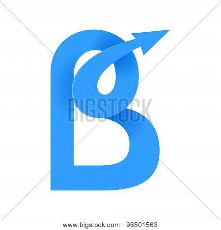 B Letter Volume Logo