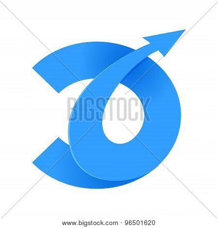 D Letter Volume Logo