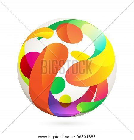 I Letter Volume Logo