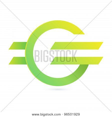 G Letter Eco Logo