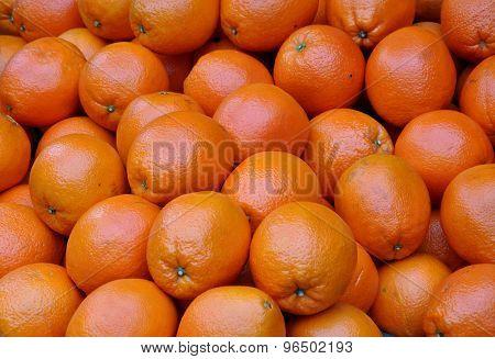 a heap of oranges