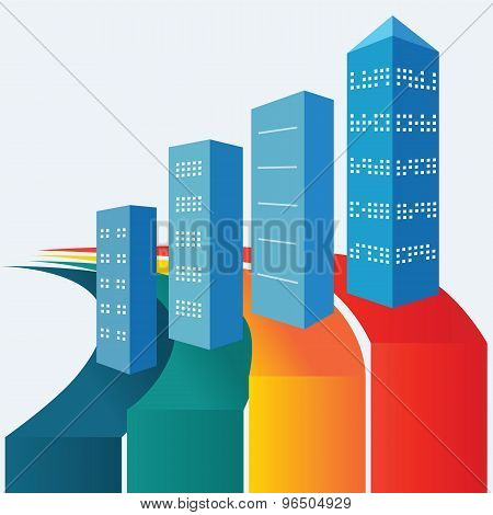 Real-estate-stats-infographics-home-offices-buildings