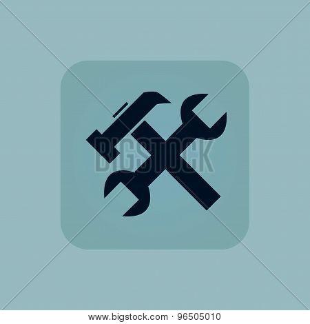 Pale blue repairs icon