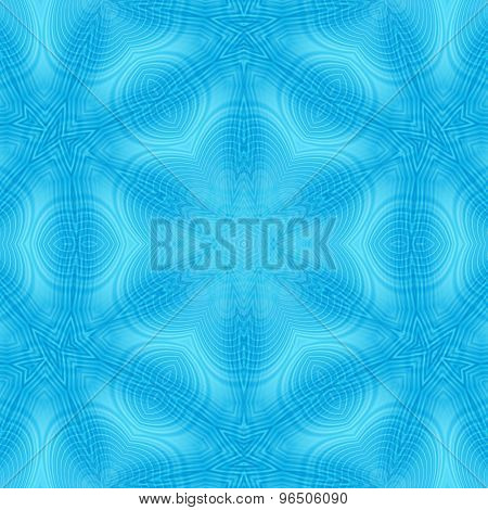 Abstract Blue Pattern