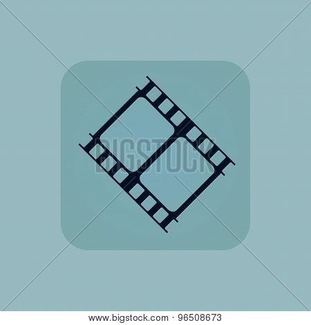 Pale blue movie icon