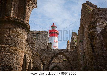 Saint Mathieu Lighthouse Brittany
