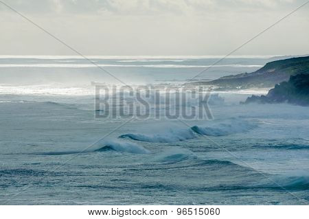 Mighty Seas At Moses Rock