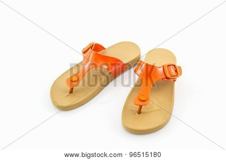 Colorful Of Sandals Shoes.