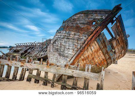 Shipwreck Cemetery Brittany