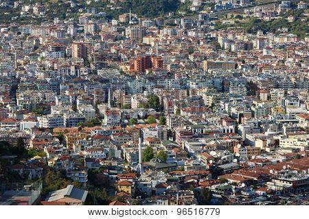 Populous City Of Alanya