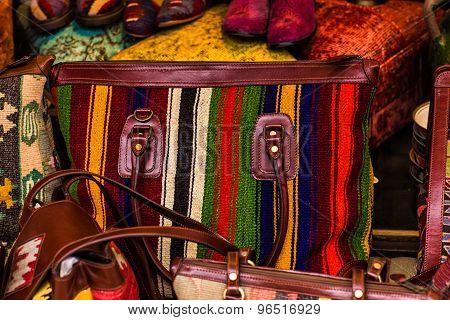 National textile bazaar in Istanbul
